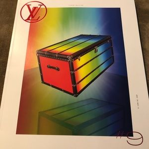 Other - Louis Vuitton Book 9 with Catogram Stickers